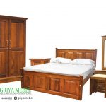 Kamar Set Minimalis Jati Thomas,Kamar Set Minimalis,Kamar Set Jati, Furniture Jati, Mebel Jati, Furniture Murah